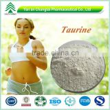GMP Factory Healthy pure bulk taurine powder 99% for sale