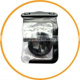 2013 New Universal Plastic Camera Case Waterproof Underwater Housing Bag Black from Dailyetech CE ROHS IPX8 Certificate