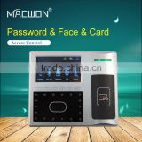 tcp/ip facial rfid recognition door access control system with GPRS WIFI optional