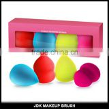 Natural Beauty makeup sponge 4pcs high quality multi-functional beauty makeup blending sponge packed with gift box