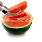 Watermelon Slicer Corer Stainless Steel Fruit Peeler Faster Melon Cutter-Useful and Smart Kitchen Gadget