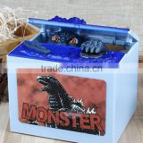 New Arrival Dinosaur Shape Saving Pot With Seven Music To Optional, Stealing Godzilla Saving Money Box For Decoration
