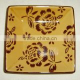 customized hand painting souvenir ceramic plates