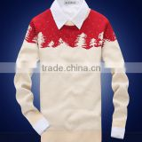 100% cotton christmas sweater jumper novelty christmas jumpers adult mens christmas jumpers
