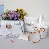 2014 Ocean Theme Wedding Accessory with Shell Decoration/Wholesale Wedding Guest Books/Pen Tolder/Pillow/Garter