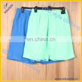 Wholesale custom mens POLYESTER shorts sports shorts