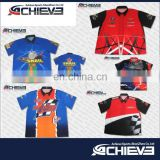 custom design dye sublimation racing motorcycle polo shirt racing pit crew shirt wholesale