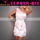 female elegant soft light pink dress lingerie