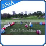 Portable Pop Up Soccer Arena For bumper Soccer / Inflatable soccer soap field game