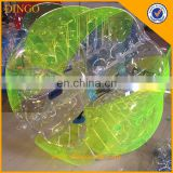 pvc soft indoor soccer ball tpu/pvc bubble ball for football new bubble football created