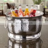champagne Beer Ice Bucket Custom Bulk Stainless Steel Metal Ice Bucket