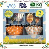 DIY cake bake decorations 24 Cupcake Liners and 24 Cake Toppers Set For Birthday Party Celebration Cupcake Decoration Kit Muffin cup