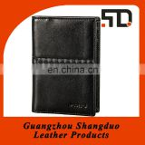 Excellect Handcraft Popular Leather Italian Boarding Passport Holder