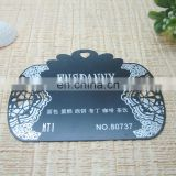 High Quality Delicate Etched Metal VIP Card Custom Shape VIP Card Membership Card