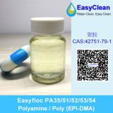 Easyfloc Cationic Polyelectrolyte PolyDADMAC Water Treatment Coagulant