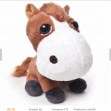 China Factory Wholesale Stuffed Animals Horse Plush Toy