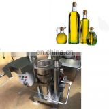 Energy saving hydraulic pressure grain seed oil press machines