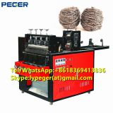 Low price full-automatic kitchen scourer scrubber making machine