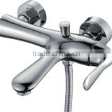 Zinc Alloy Handle Ceramic Valve Tap Faucet Bathroom Bathtub Mixer KL-3313