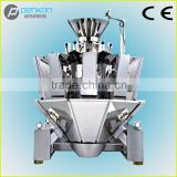 PenKan10 heads multi-mouth feeder weigher with packing machine for weighing small granules