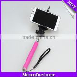 Extendable Bluetooth Wireless Selfie Stick Built-in Remote Shutter Button For iOS/Android Smartphoes