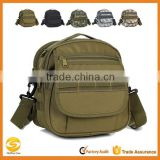 Military Combat Tactical Small Molle Pouch Nylon Outdoor Sport Biking Hiking Cycling Travel Mini Cross-body Shoulder Bag