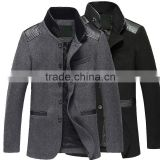 western style long wool coat/winter coats/winter wool coats/winter designer men's coats/designer coats