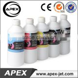 1 Liter CMYKW Textile Ink for DTG Printer