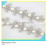 Fashion 888 Quality Trimmings For Dress Crystal Rhinestone Beads Cup Chain