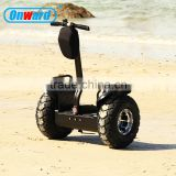 2016 China hot selling product samsung battery powered scooter 2 wheel electric scooter with big wheels