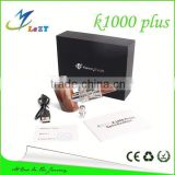 Kamry k1000 epipe,k1000 vaporizer,aluminum wood k1000 wood e pipe fast shipping with wholesale price