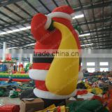 2014 inflatable santa clause gift bag christmas decoration inflatable advertising