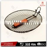 China factory universal bbq barbecue grill mesh basket set