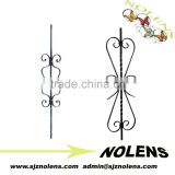 outdoor metal stair baluster for decoration/Forged Parts, Ornamental Iron Forging Baluster