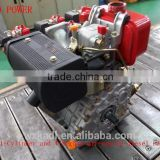 1-Cylinder and 4-Stroke 5HP/3000rpm Recoil Start Air-Cooled Diesel Engine for Cultivator and Tiller Use