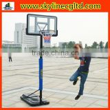Indoor/outdoor sports equipment adjustable Height basketball stand