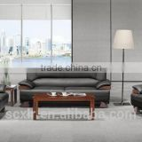 Modern leather sectional sofa executive office sofa