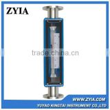 GA24 series easy to read vertical glass mechanical water flow meter /hot water flow meter