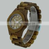 100% Healthy Hot Sale We Hand Made Analog We wooden Watch Wood Grain Watches
