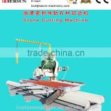 Granite stone slab cutting machines manual oil sealed granite stone slab cutting machines