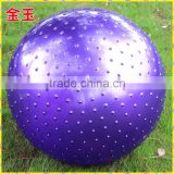 MIC5026 anti-brust yoga ball 85cm with custom logo factory directly, gym ball, massage ball