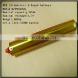 lithium titanate battery 2.4V45AH with high rate,super long cycle life and safety for EV,Emergency power supply