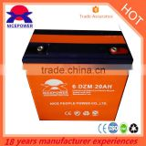 high quality 6-DZM-20 battery 12v20ah use for electric bicycle