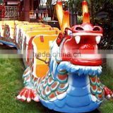 Hot sale!!! China Symbolic Dragon Slides Outdoor Various Slide Dragon Amusement Electric Mini Train