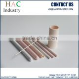 C799 high alumina 99.5%Al2O3 thermocouple ceramic protection tube