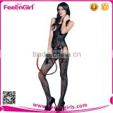Sexy Lingerie Women Fishnet Open Crotch Body Stocking Bodysuit