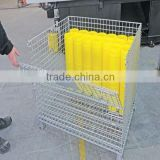 trade assurance galvanized heavy duty collapsible container pallet box