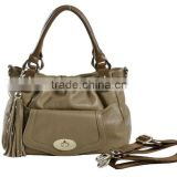 New arrival!Luscious turnlock with studded tassel fashion bags ladies handbags 2012