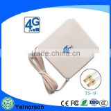 4G LTE antenna mimo panel antenna with crc9/ts9/SMA conenctor for huawei protable router