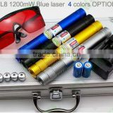 1w 445nm blue laser pointer 5 units/pack